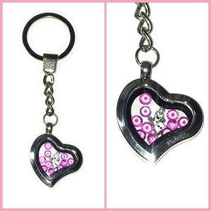 floating memory charm locket